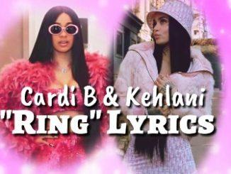 Cardi B – Ring Lyrics
