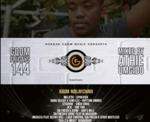 Dj Athie – GqomFridays Mix Vol.144Dj Athie – GqomFridays Mix Vol.144