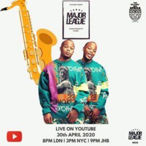 Major League – Amapiano Live Balcony Mix 13