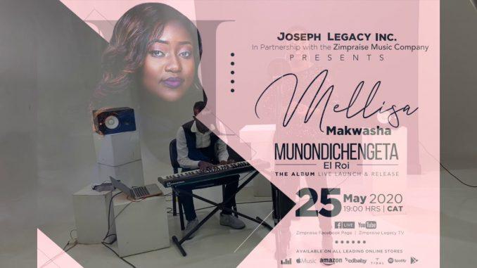 Mellisa Makwasha - LIVE Album E Launch (Munondichengeta ElRoi)