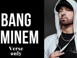 Eminem - Bang Bang lyrics