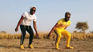 Soshanguve and Naisiboy dancing to Penene Ponono