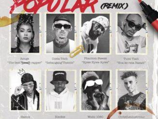 Rouge – Popular (remix) Ft. Costa Titch, Phantom Steeze, Tumi Tladi, Hanna & Blxckie