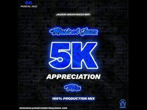 Musical Jazz – 5K Appreciation Mix (100 Production Mix)