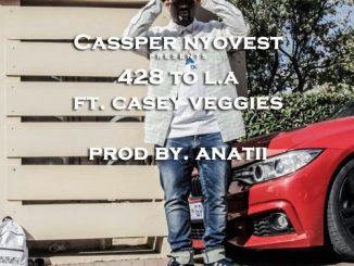 Cassper Nyovest – 428 To LA ft. Casey Veggies (Prod. Anatii)